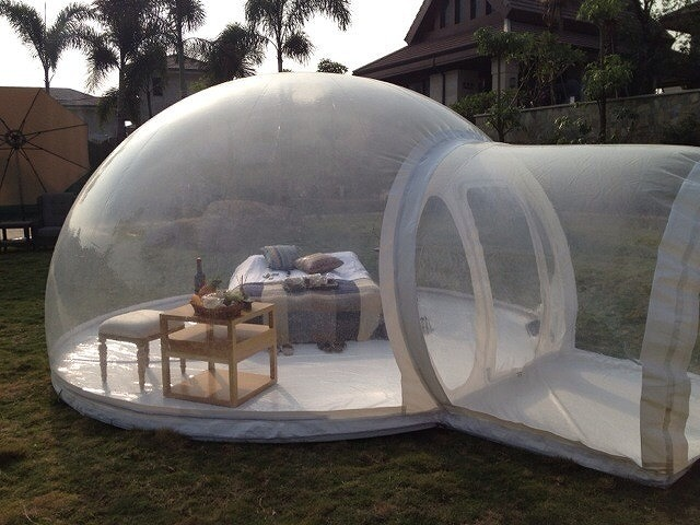 tent & Three Bubble Tents Order